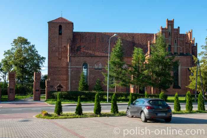 Kirche des heiligen Laurentius in Migehnen (Mingajny) im Ermland