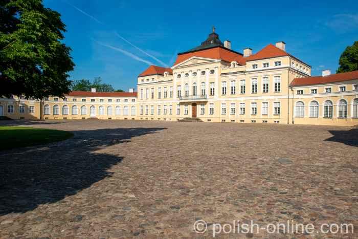 Schloss Rogalin in Großpolen