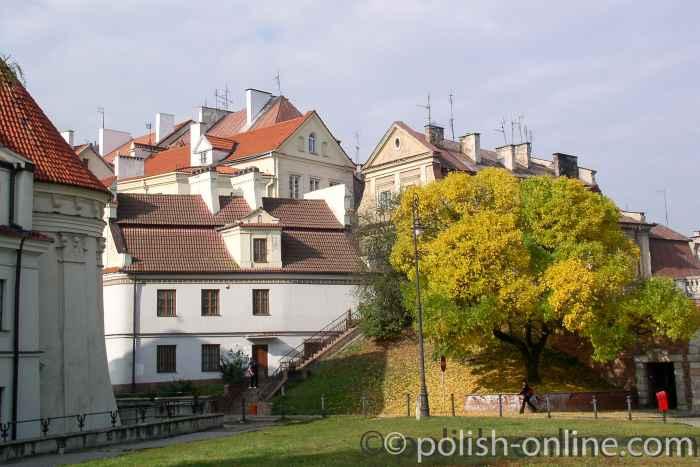 Blick auf die Lubliner Altstadt