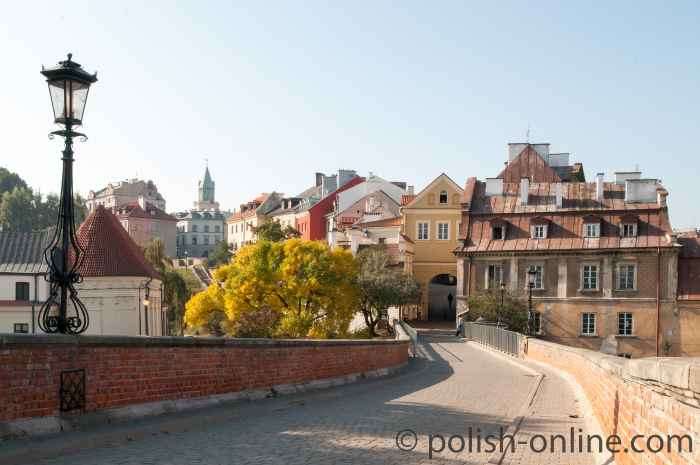 Das Grodzka-Tor (Brama Grodzka) in Lublin