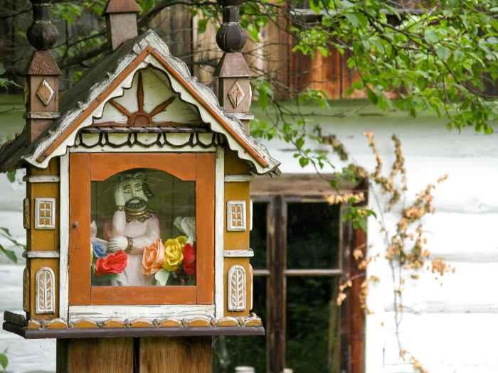 Kleine Kapelle im Freilichtmuseum Neu Sandez
