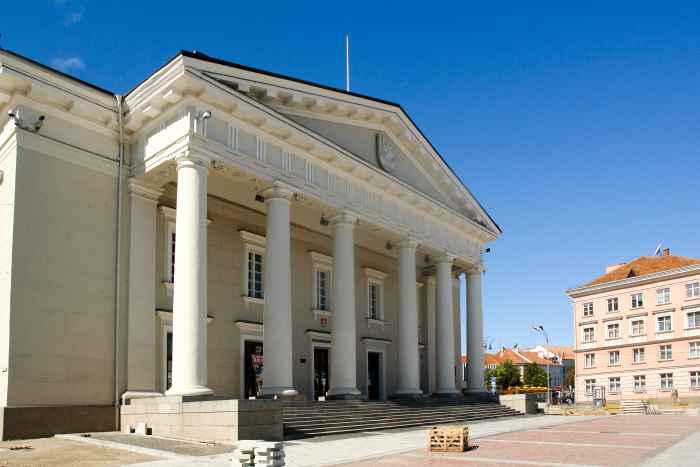 Historisches Rathaus in Vilnius