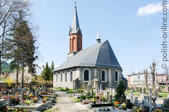 St.-Hedwig-Kirche in Arnsdorf (Miłków) im Riesengebirge