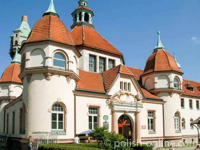 Balneologische Anstalt in Sopot (Zoppot)
