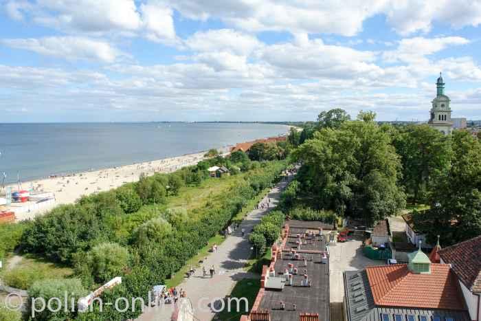Strand von Sopot (Zoppot)