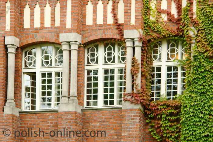 Neogotisches Haus in Sopot (Zoppot)