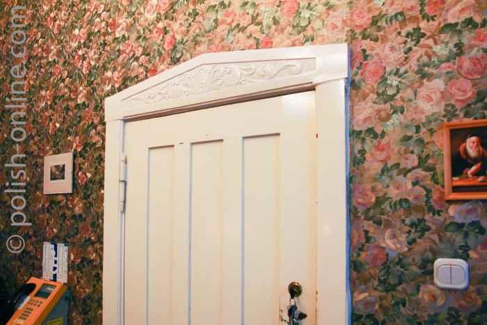 Tür in Jugendstilvilla