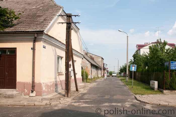 Straßenzug Włodawa