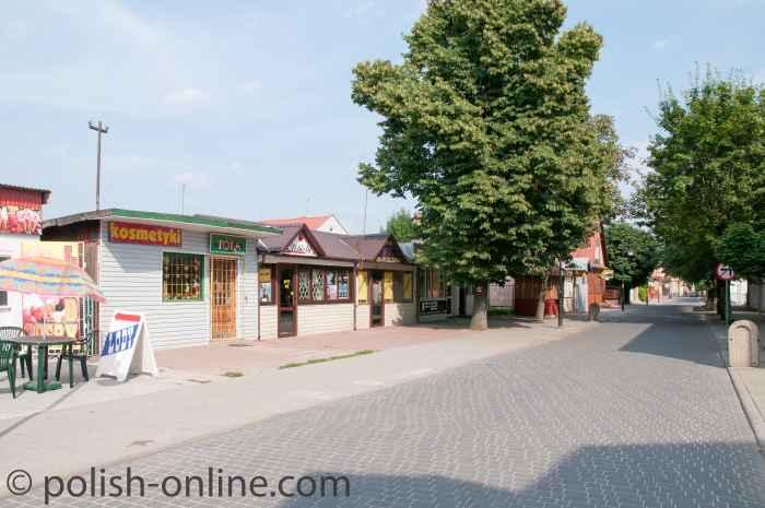 Kleine Geschäfte Włodawa