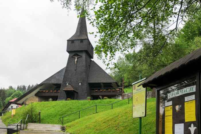Kirche des hl. Kreuzes in Wisla