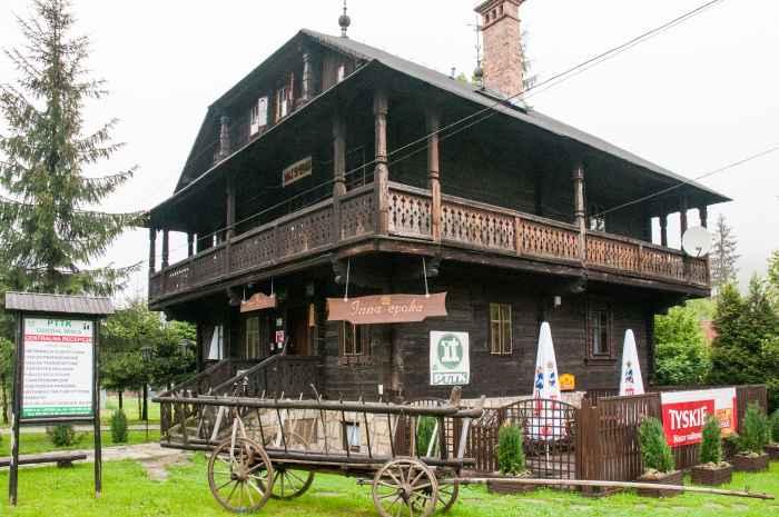 Holzhaus in Wisła