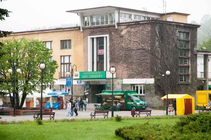 Kurhaus in Wisła