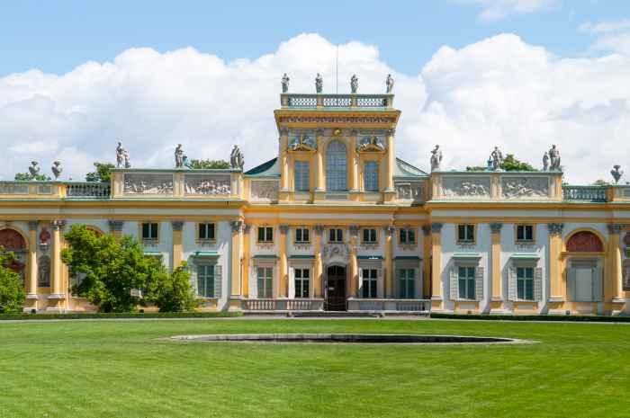 Palast von Wilanów bei Warschau