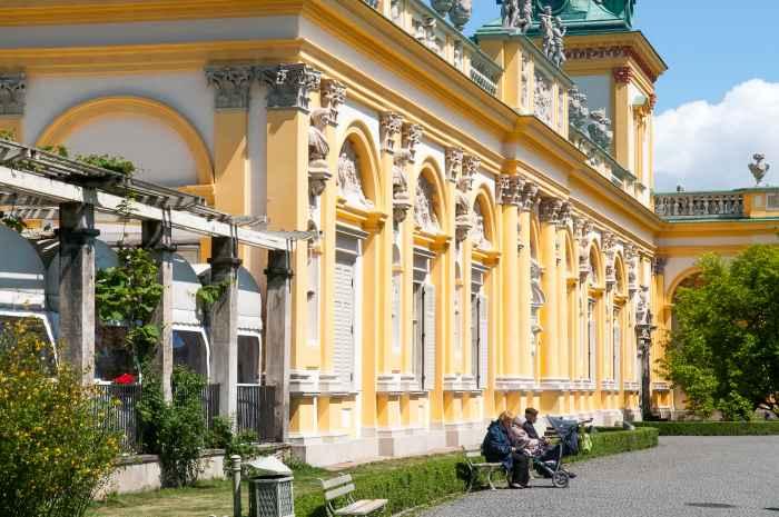 Seitenflügel des Schlosses Wilanów