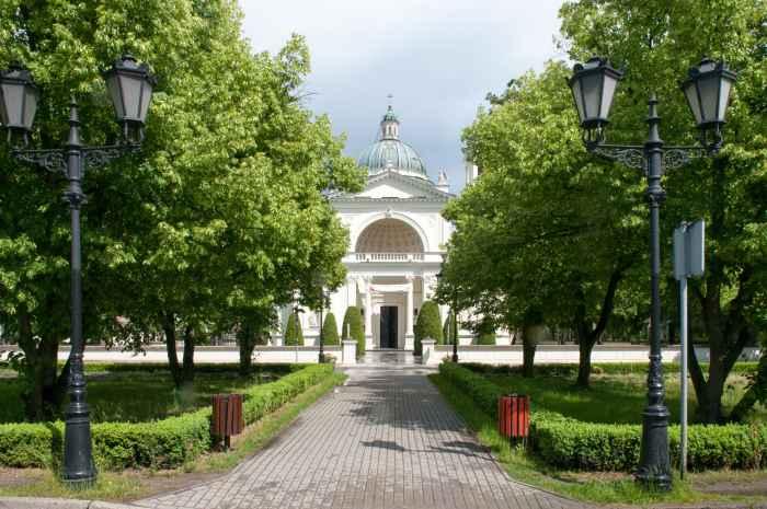 Kirche St. Anna am Palast Wilanów in Warschau