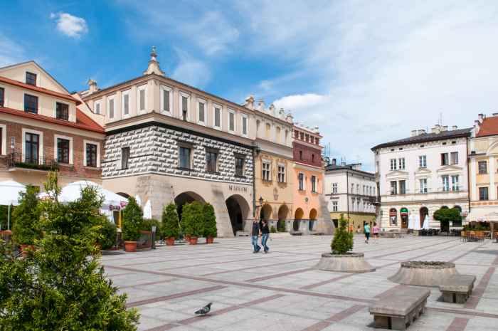 Bürgerhäuser am Markt von Tarnow