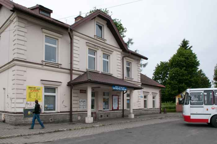 Bahnhof in Ustrzyki Dolne