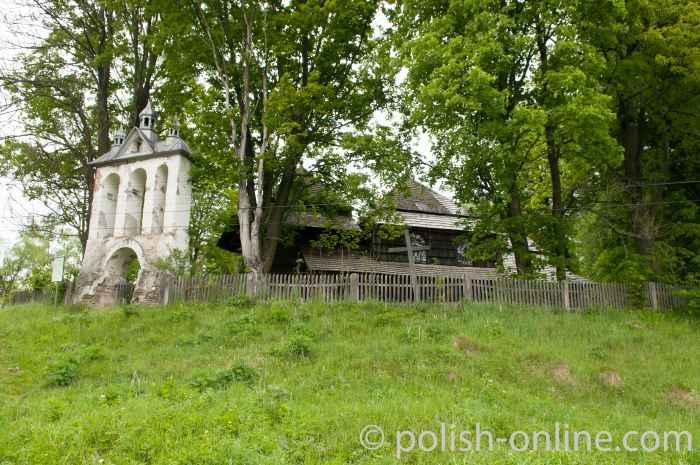 Glockenturm in Liskowate Bieszczady