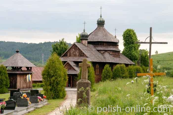 Griechisch-orthodoxe Kirche in Krościenko