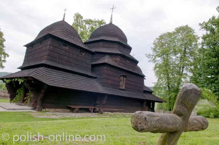 Griechisch-katholiche Kirche in Równia