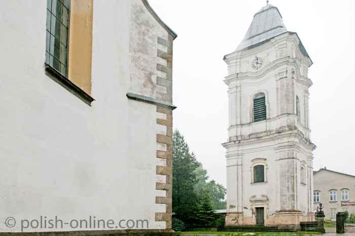 N Pfarrkirche der Erscheinung der allerheiligsten Jungfrau Maria in Lesko
