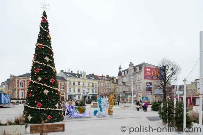 Swinemünder Altstadt in Polen