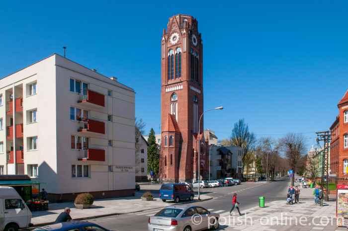 Turm Lutherkirche in Swinemünde