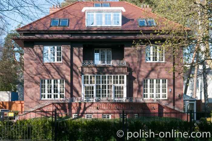 Luxuriöse Villa im Kurviertel von Swinemünde Polen