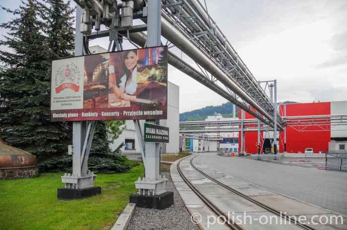 Brauerei in Żywiec