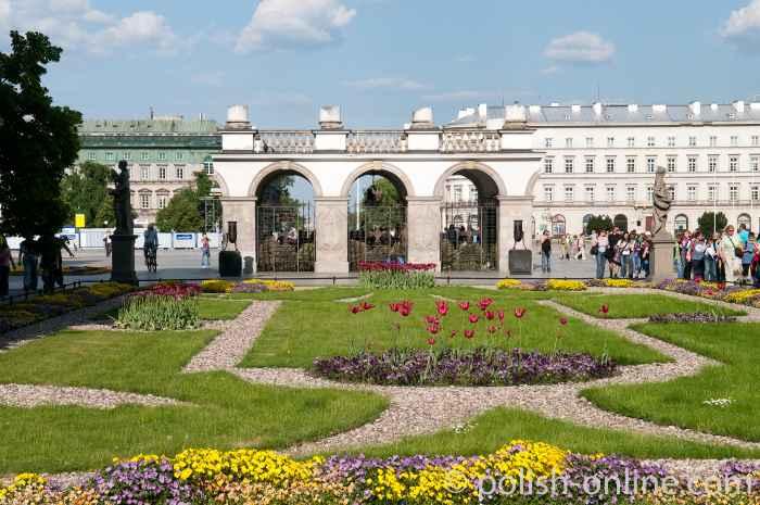 Sachsenpark in Warschau