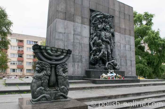 Ghetto-Ehrenmal in Warschau