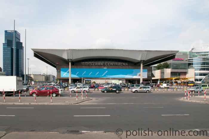 Zentralbahnhof von Warschau