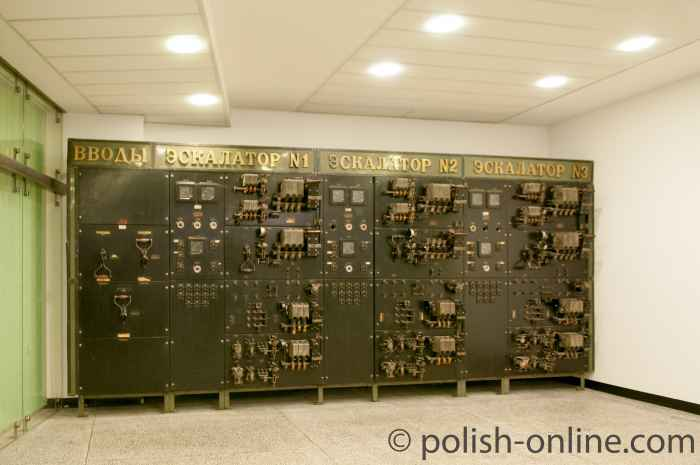 Schaltzentrale Rolltreppen Warschau