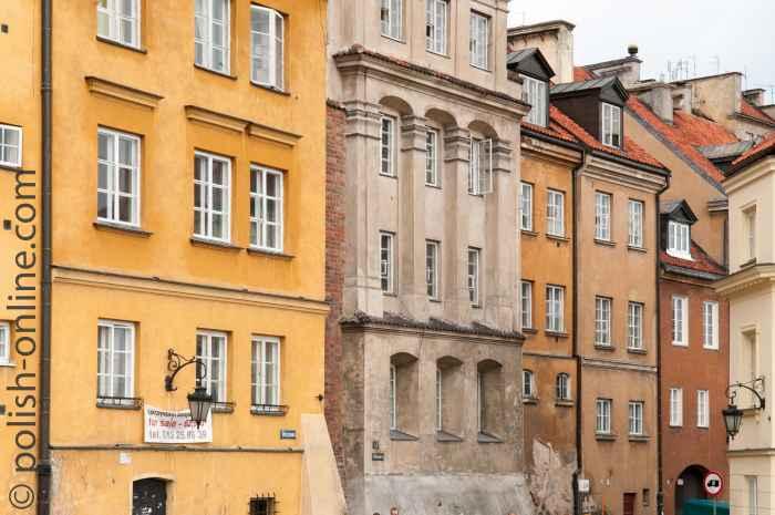 Bügerhäuser Warschau