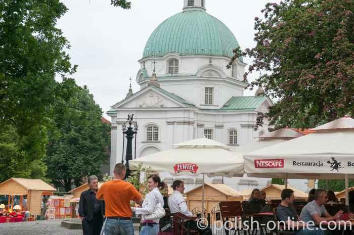 Sakramentkirche in Warschau