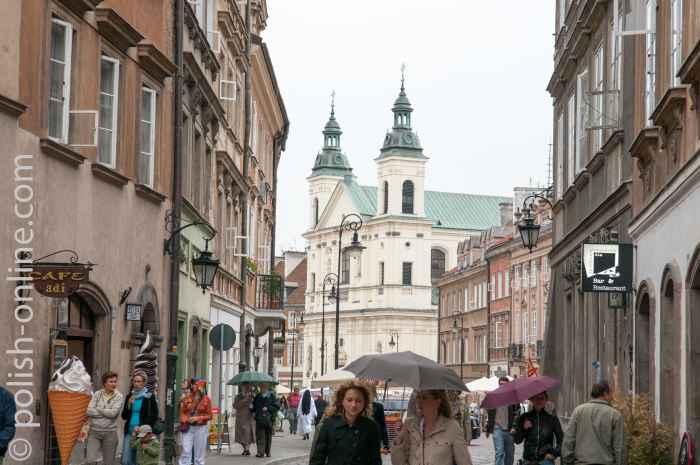 Heiliggeistkirche in Warschau