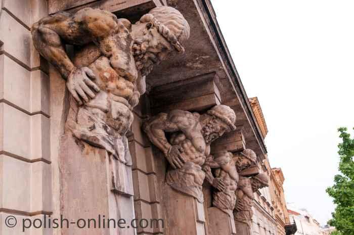 Atlanten Fassade Warschau