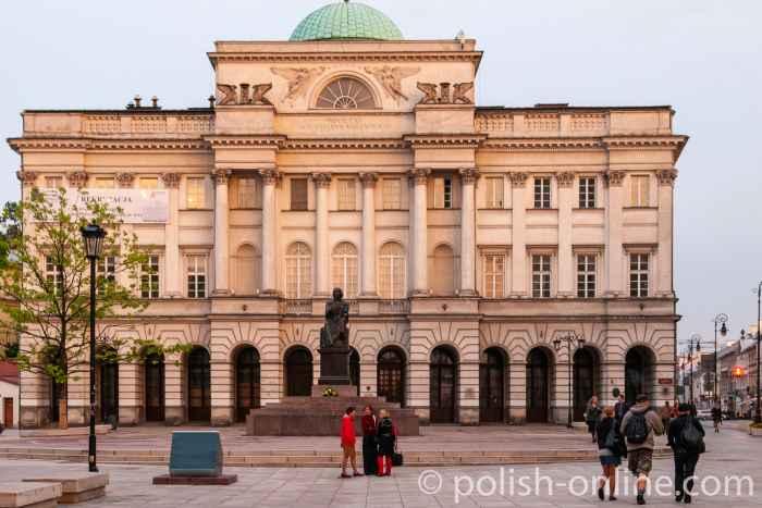 Staszic-Palais in Warschau