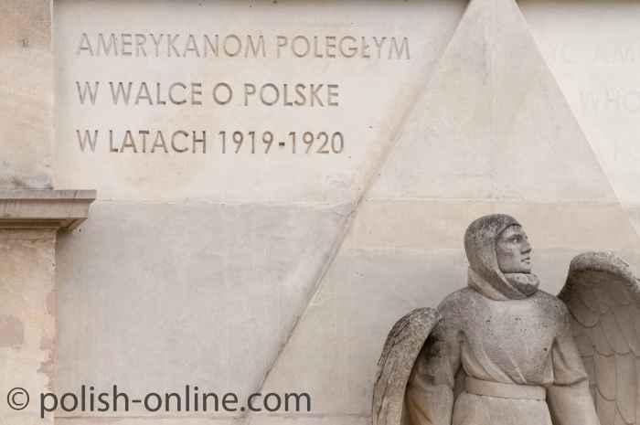 Denkmal auf dem Łyczakowski-Friedhof in Lemberg