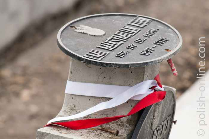 Grab eines polnischen Soldaten Lemberg