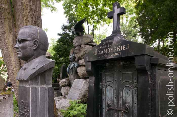 Polnische und ukrainische Gräber in Lemberg
