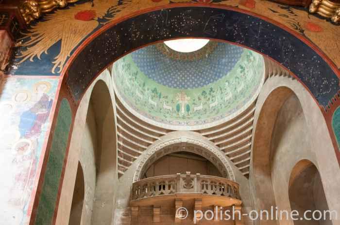 Kuppel der Armenischen Kirche in Lemberg