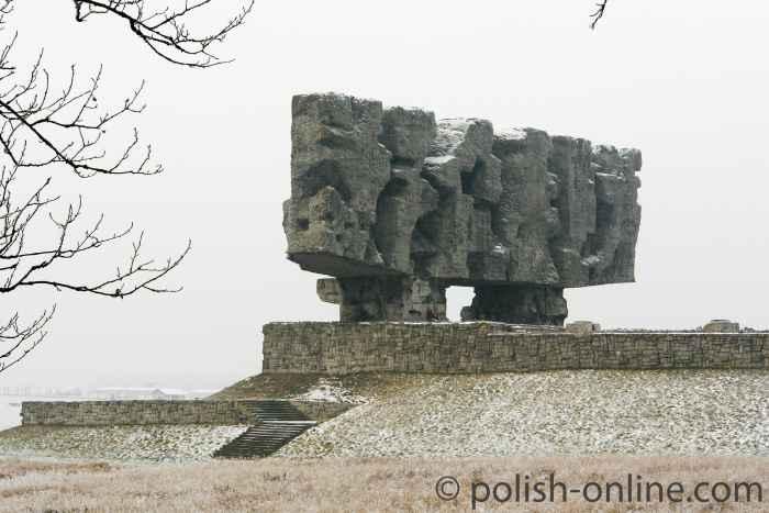 Mahnmal Das Tor zur Hölle KZ Majdanek Lublin