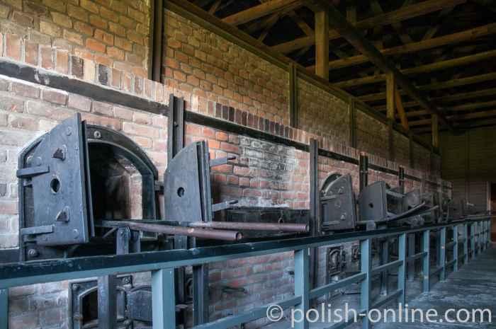 Verbrennungsöfen KZ Majdanek Lublin