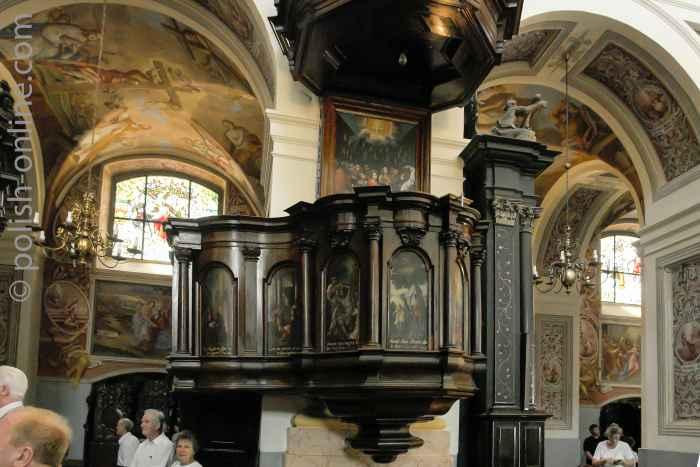 Kanzel in der Basilika Heiligelinde
