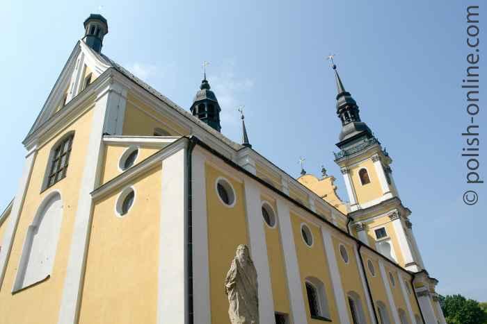 Nordostansicht der Wallfahrtskirche Heiligelinde