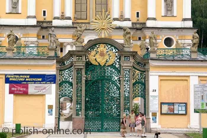 Das barocke Eingangstor Heiligelinde