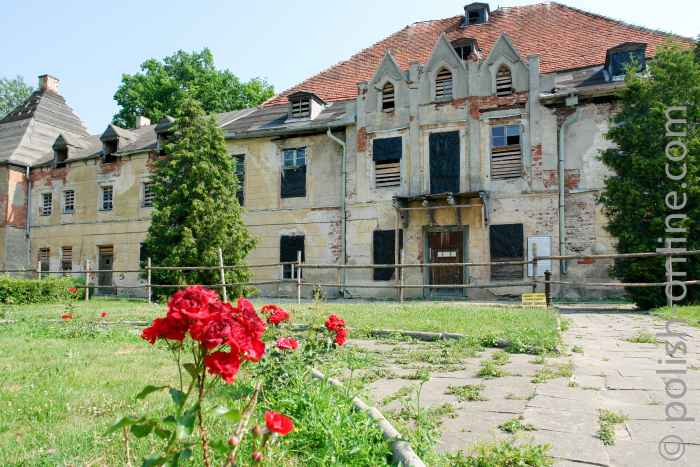 Schloss in Steinort (Sztynort)