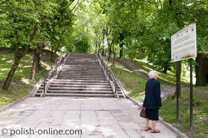 Treppenaufgang Chełm