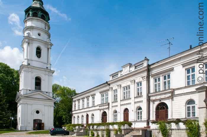 Glockenturm der Marienbasilika Chełm